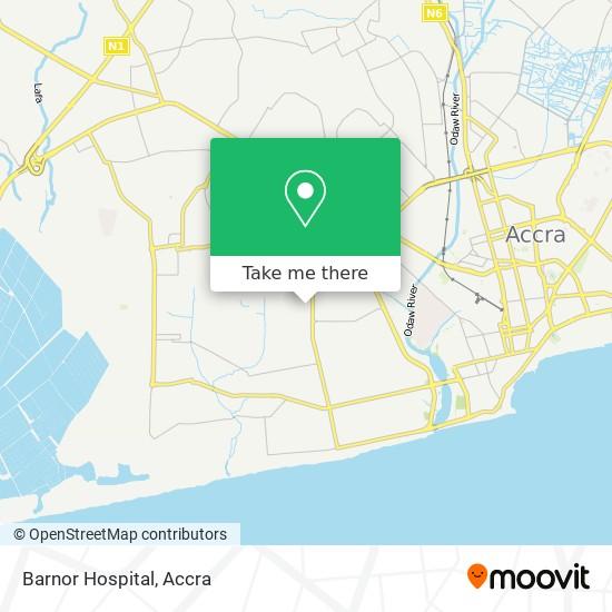 Barnor Hospital map