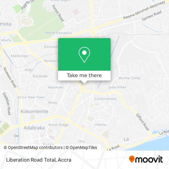 Liberation Road Total map