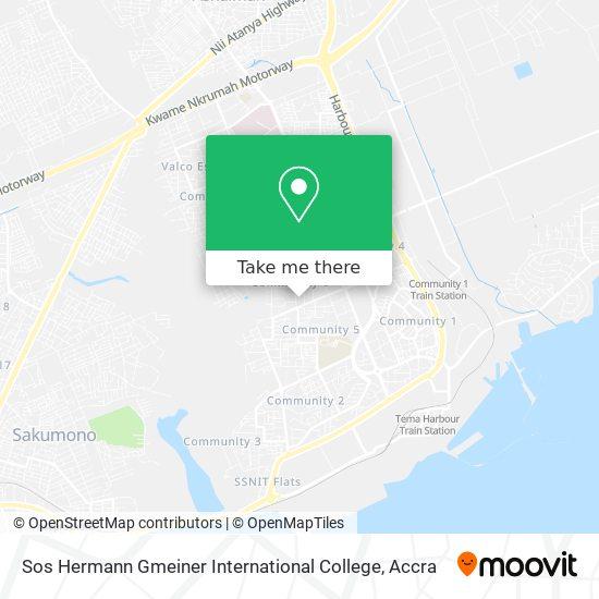 Sos Hermann Gmeiner International College map