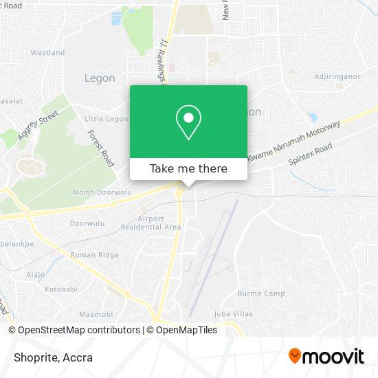 Shoprite map