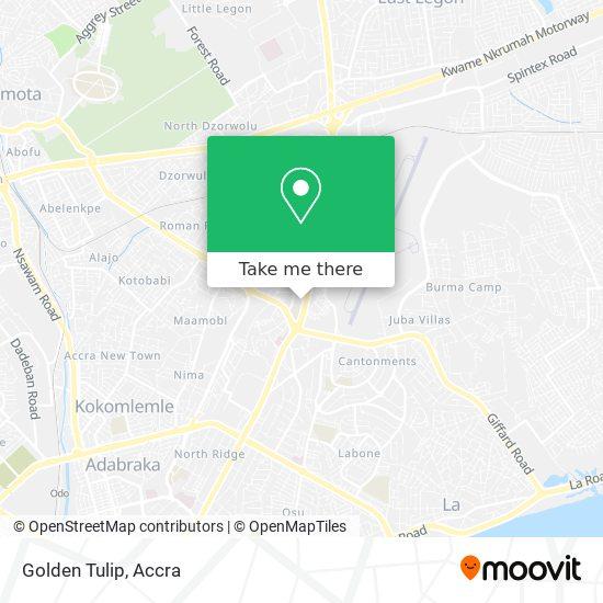 Golden Tulip map
