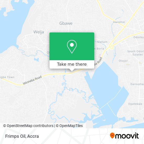 Frimps Oil map