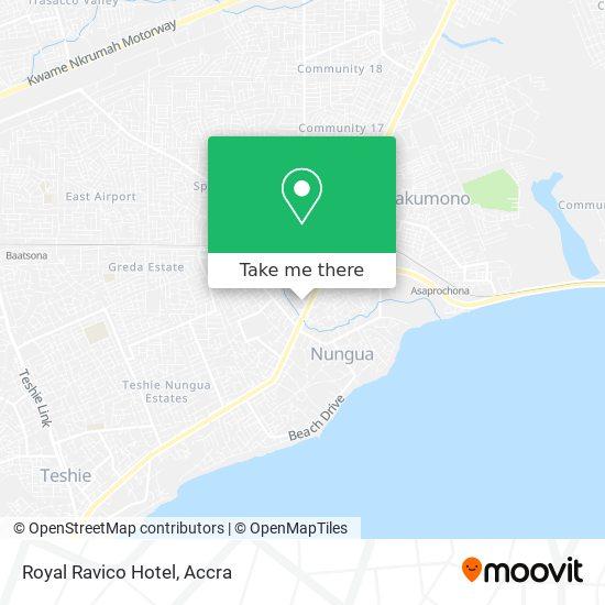 Royal Ravico Hotel map