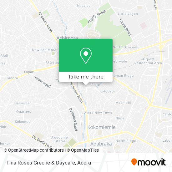 Tina Roses Creche & Daycare map