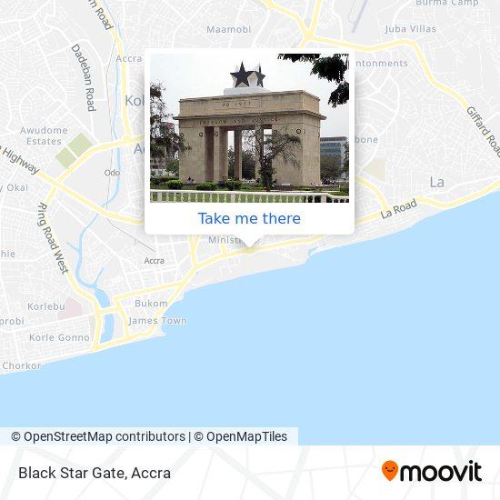Black Star Gate map