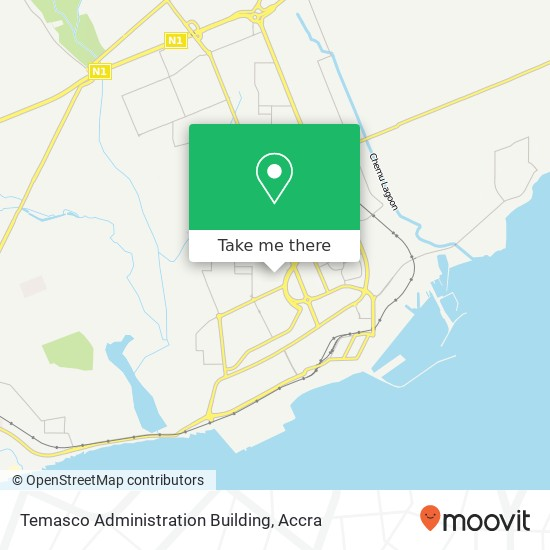 Temasco Administration Building map