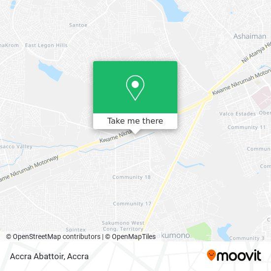 Accra Abattoir map