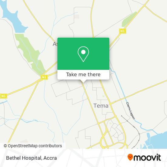Bethel Hospital map