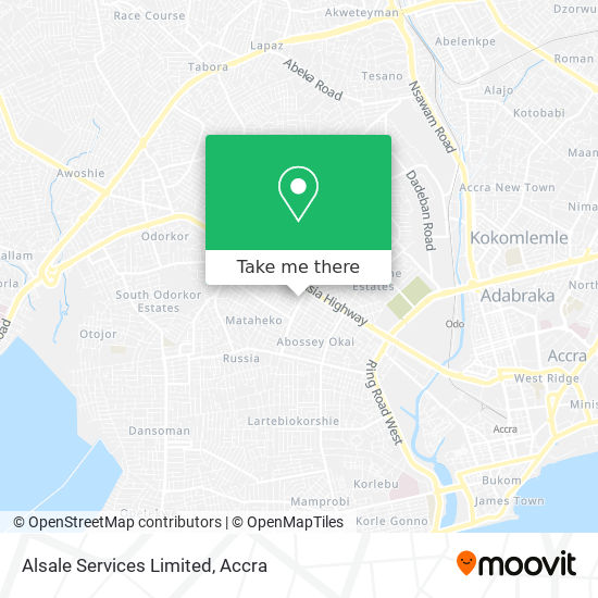 Alsale Services Limited map