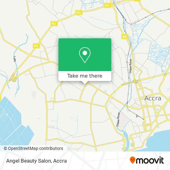 Angel Beauty Salon map