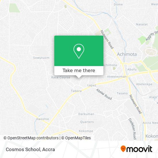 Cosmos School map