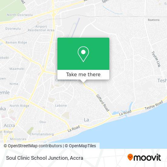 Soul Clinic School Junction map