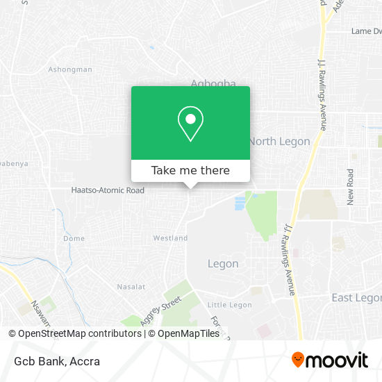 Ghana Commercial Bank (Gcb) map