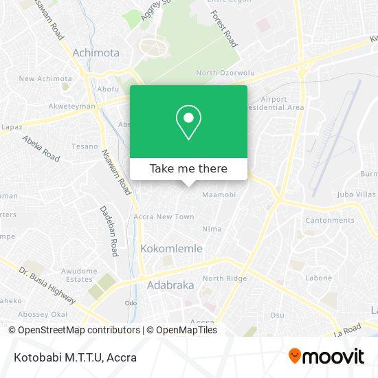Kotobabi M.T.T.U map