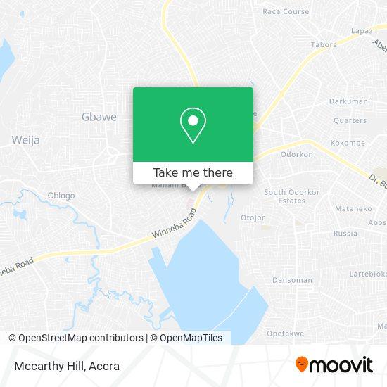 Mccarthy Hill map