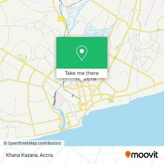 Khana Kazana map