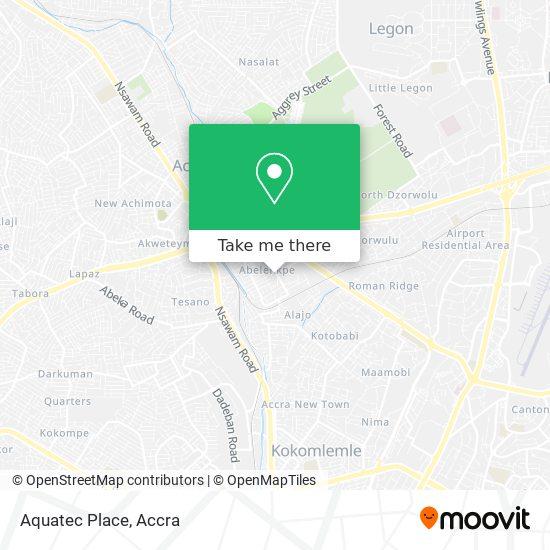 Aquatec Place map