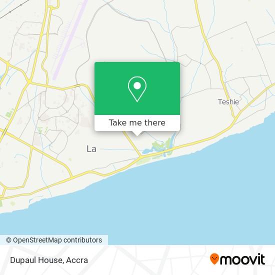 Dupaul House map