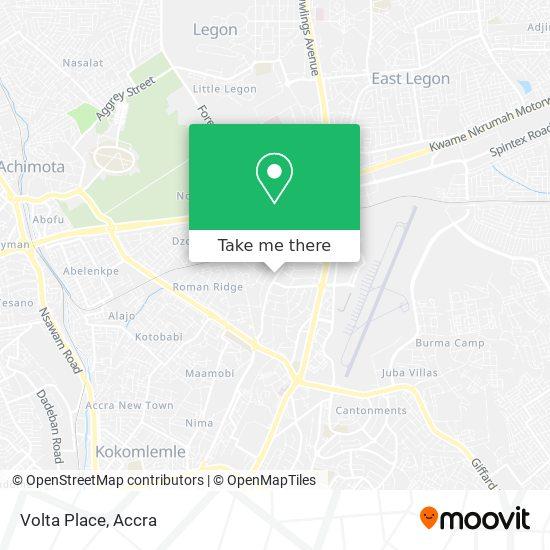 Volta Place map