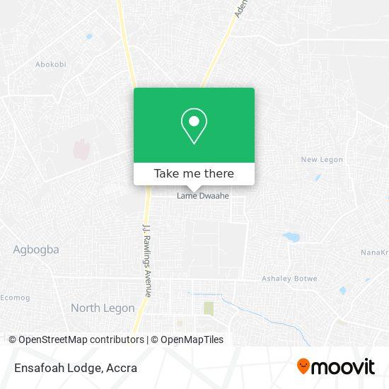 Ensafoah Lodge map