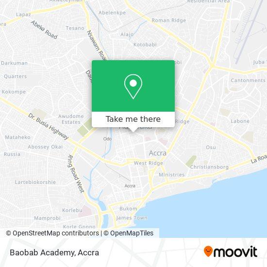 Baobab Academy map