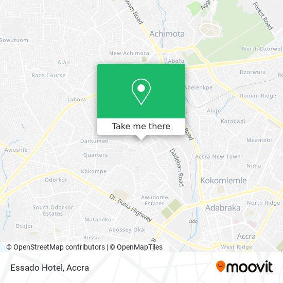 Essado Hotel map