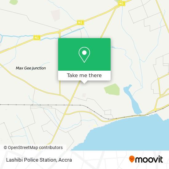 Lashibi Police Station map