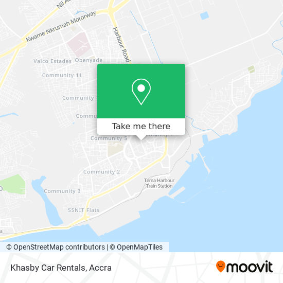 Khasby Car Rentals map