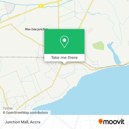 Junction Mall map