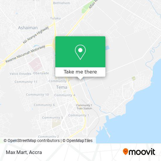 Max Mart map