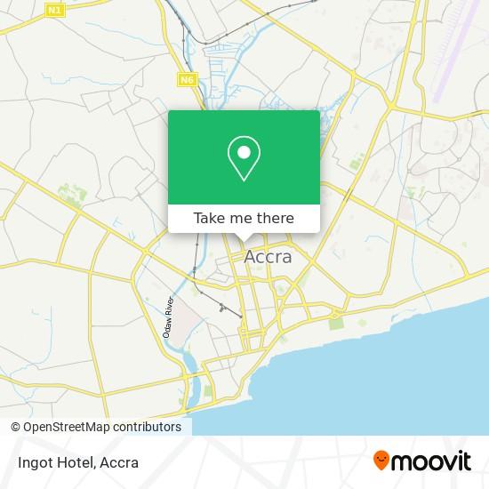 Ingot Hotel map