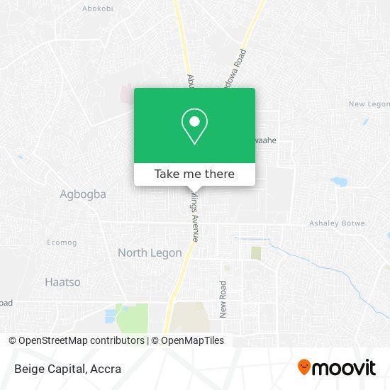 Beige Capital map