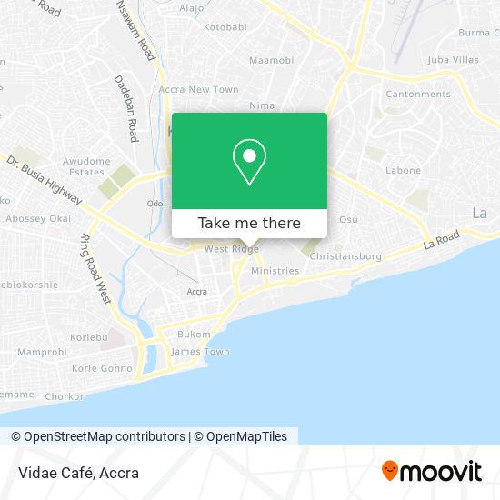 Vidae Café/ Pizza Inn map
