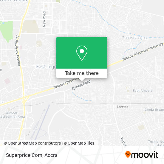 Superprice.Com map