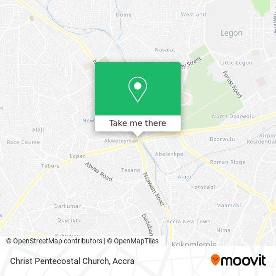 Christ Pentecostal Church map