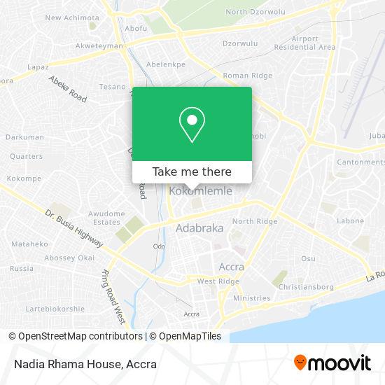 Nadia Rhama House map