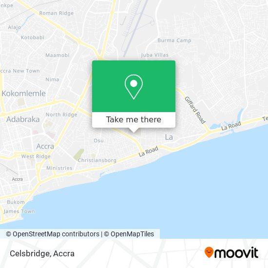 Celsbridge map