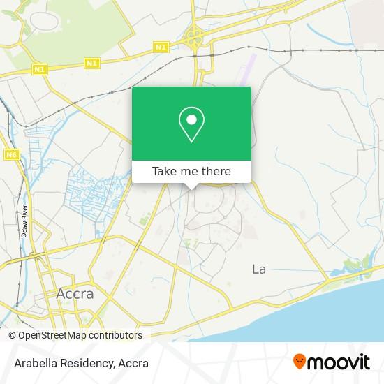 Arabella Residency map
