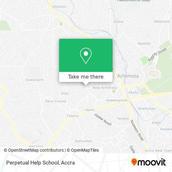 Perpetual Help School map