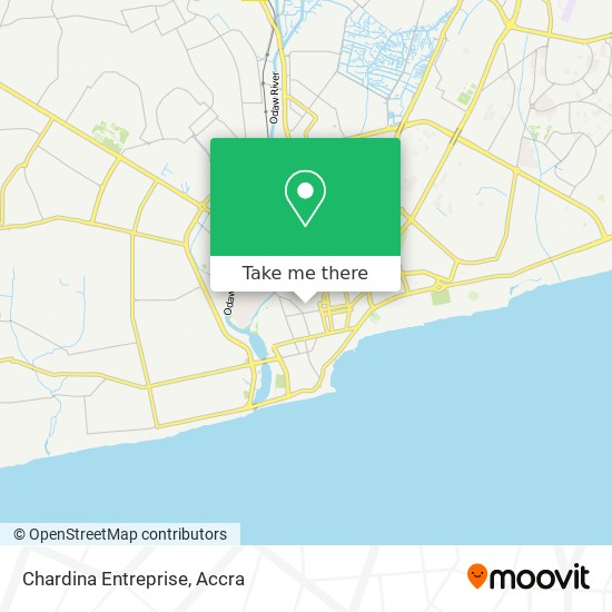 Chardina Ent map