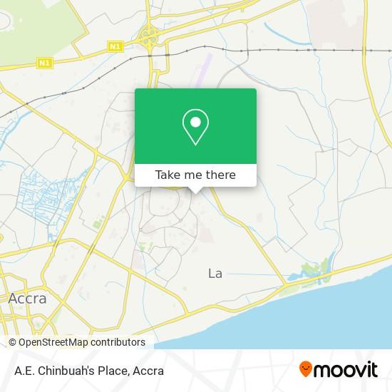 A.E. Chinbuah's Place map