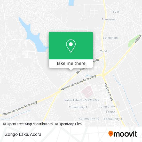Zongo Laka map