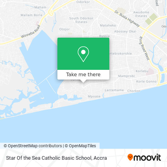 Star Of The Sea Catholic Basic School map