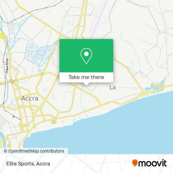 Elite Sports map