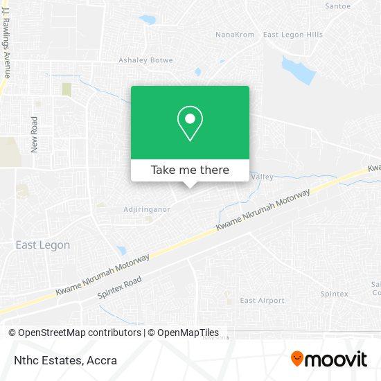 Nthc Estates map