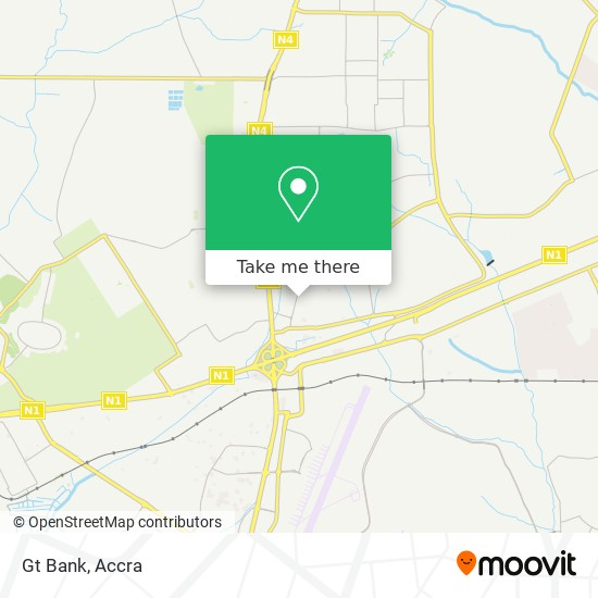 Gt Bank map