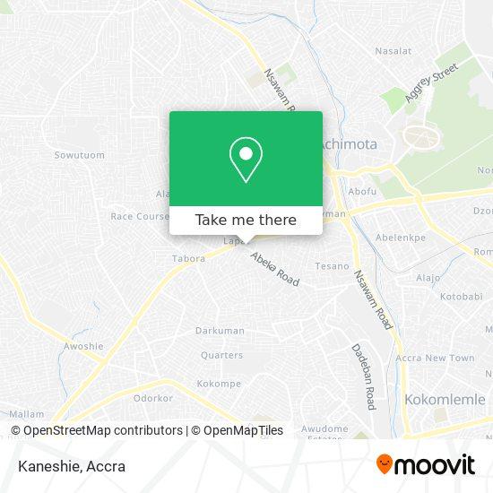 Kaneshie map