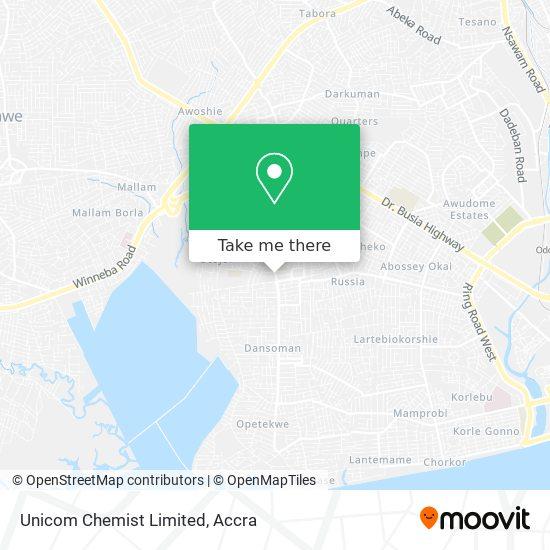 Unicom Chemist Limited map