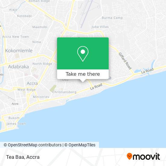 Tea Baa map