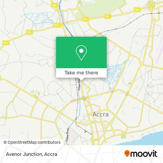 Avenor Junction map